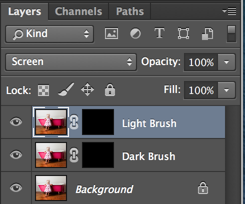 Black layer mask in Adobe Photoshop