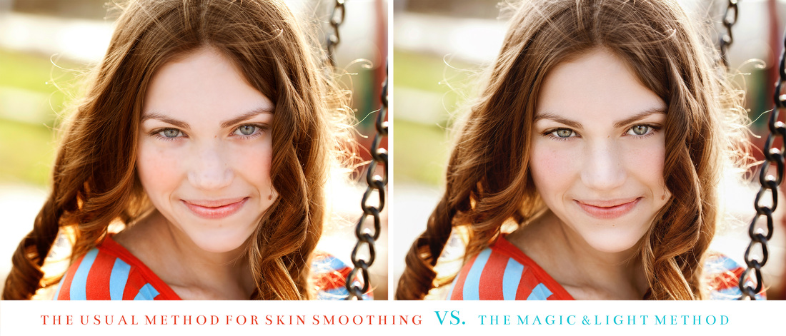 Skin Smoothing Actions for Photoshop