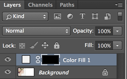 how to change color of solid color layer adobe photoshop