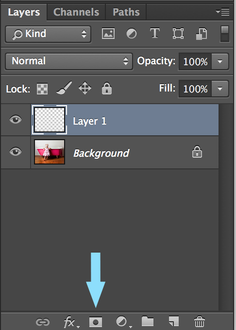 How to add a layer mask