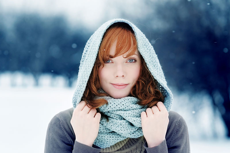 Five Tones Of Winter For Photoshop and Elements