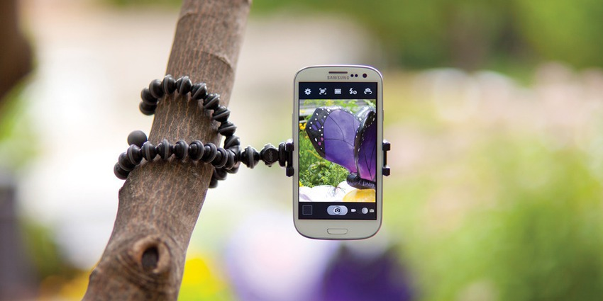 Grip Tight Gorilla Pod Stand for Mobile Photography