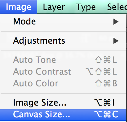 How to expand canvas size adobe photoshop