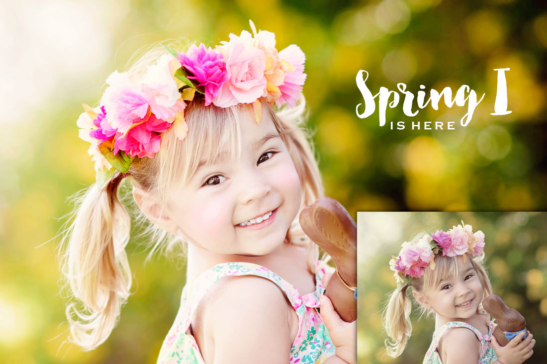 Brand new Spring Photoshop Actions (Elements Too)! - magic
