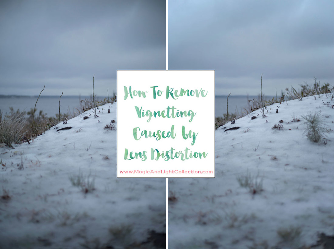 How To Remove Vignetting Distortion in Photoshop