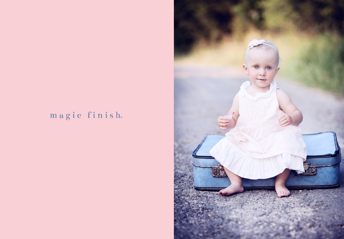 Finishing Actions for Photoshop and Elements by Magic and LIght Collection