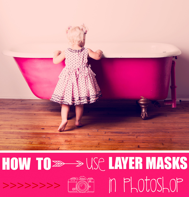 Tutorial, how to use layer masks in Adobe Photoshop by Magic and Light Collection.  A complete guide to everything you need to know about layer masks.